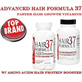 Hair Formula 37 Advanced Hair Vitamins with Amino Acids Protein Booster (1 month Supply)
