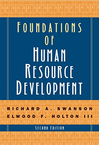 Foundations of Human Resource Development by Brand: Berrett-Koehler Publishers