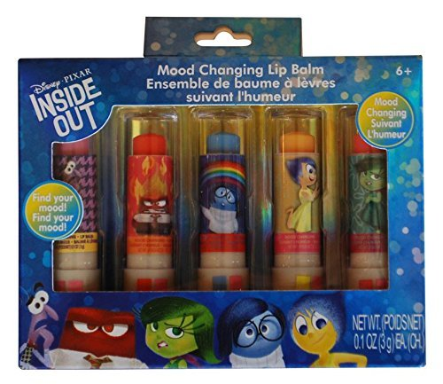 Inside Out Mood Changing Lip Balm, 5 Count by ()