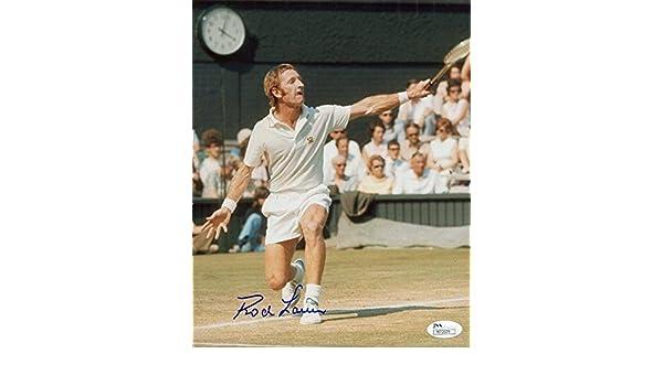 15d11204b723cb Signed Rod Laver Picture - 8x10 COLOR LEGEND - JSA Certified - Autographed  Tennis Photos at Amazon s Sports Collectibles Store