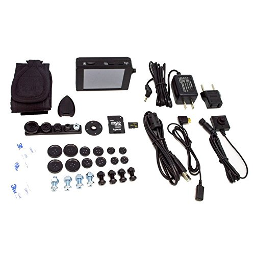 Lawmate Pro DVR Button Camera Bundle – PV-500NP Bundle – With 32GB Micro SD Card
