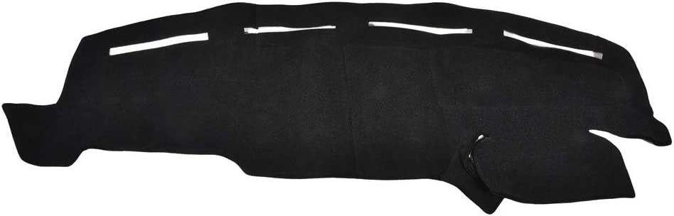 Facaimo Black Dashboard Cover Dash Cover for Ford Truck F250 F350 F450 1999-2004 Dashmat Dashboard Mat Carpet, Custom Fit Easy Installation