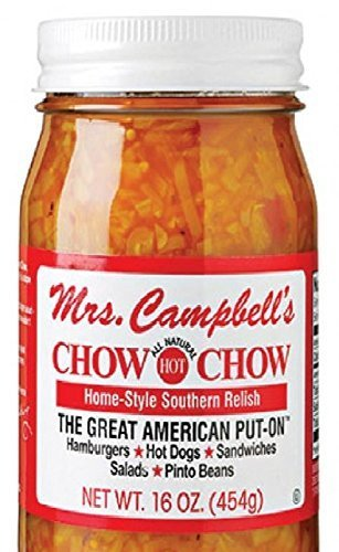 Mrs. Campbell's All Natural Hot Southern Chow Chow Relish by Mrs. Campbell's by Mrs. Campbell's