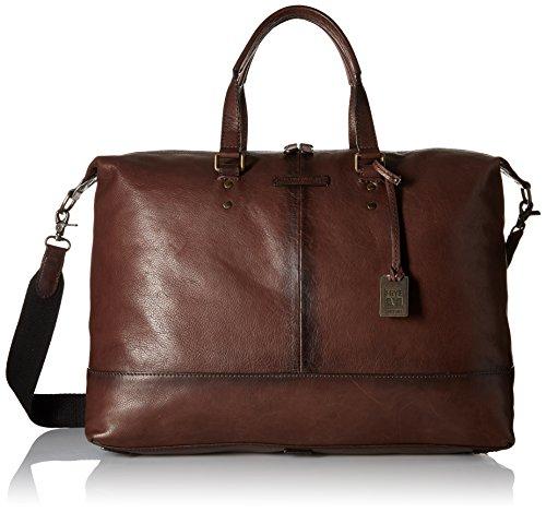 Price comparison product image FRYE Men's Ben Artisan Duffel, Dark Brown, One Size