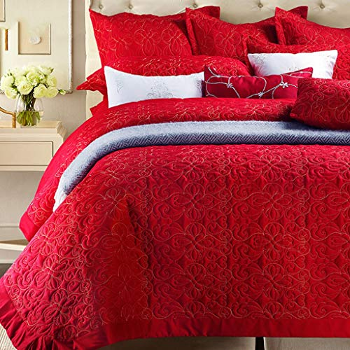 red comforters