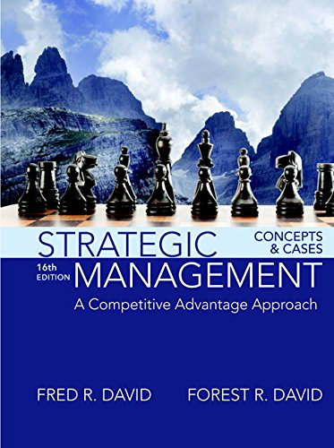 Strategic Management:Concepts+Cases