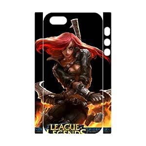 Classic Case League Of Legends pattern design For Apple iPhone 5,5S(3D) Phone Case