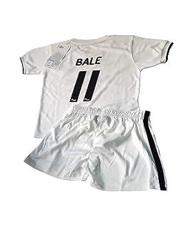 Conjunto Camiseta y Pantalon 1ª Equipación 2018-2019 Real Madrid - Réplica Oficial Licenciado -