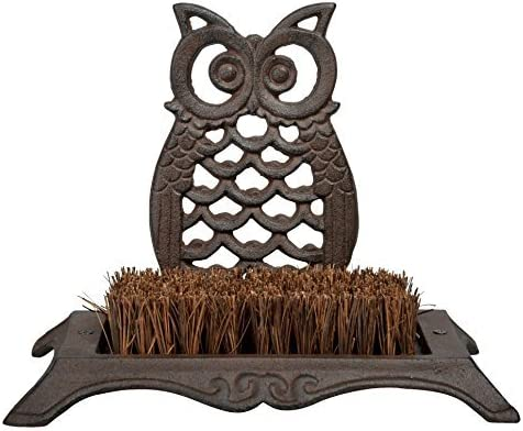 Esschert Design Owl Boot Brush