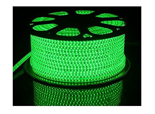 Buy Mufasa® Green Color LED Strip Light Waterproof Roll 20 Meter