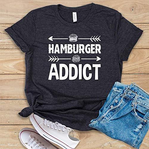 - Hamburger Addict T-shirts, Sweatshirts, Hoodies, Longsleeve