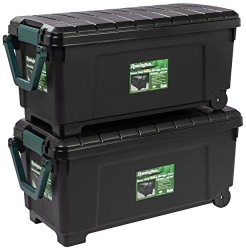 IRIS USA, Inc. 296015 SIA-1000H Storage Box, 173 Quart, Black