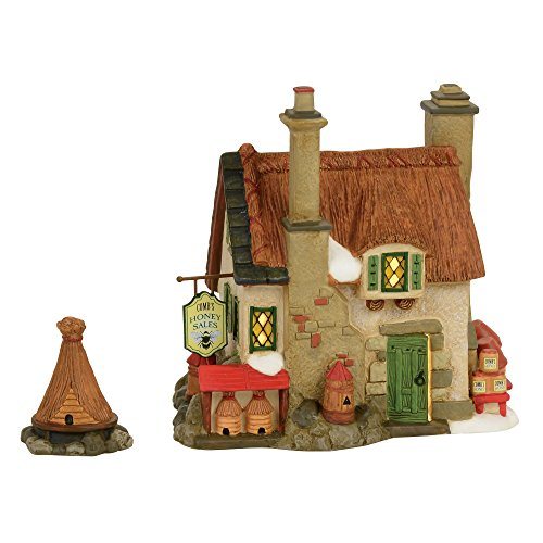 (Department 56 Dickens Comb's Honey Cottage House Village Lit Building, Multicolor)