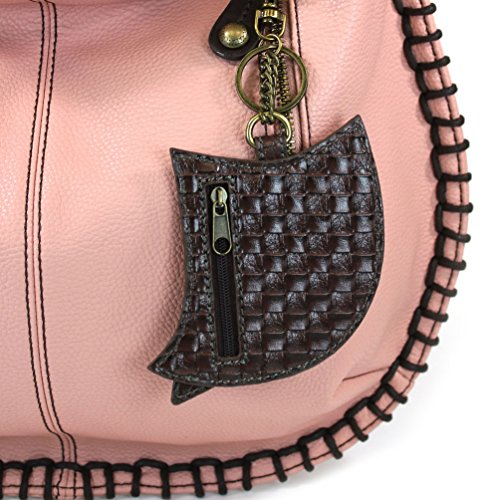 Hoohoo Crossbody Casual Pink Pink Style Large Bag Handbag Soft Shoulder Owl Crossbody CHALA Hobo wFxz7qpfSS