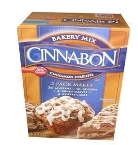 Betty Crocker Cinnabon Cinnamon Streusel Mix 2 Pack 3 Pounds 10 Ounces Per Box