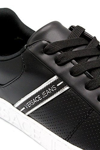 Versace Jeans Linea Cassetta Logata Dis1 003 Coated Tape E0YRBSD170113003, Scarpe Sportive nero
