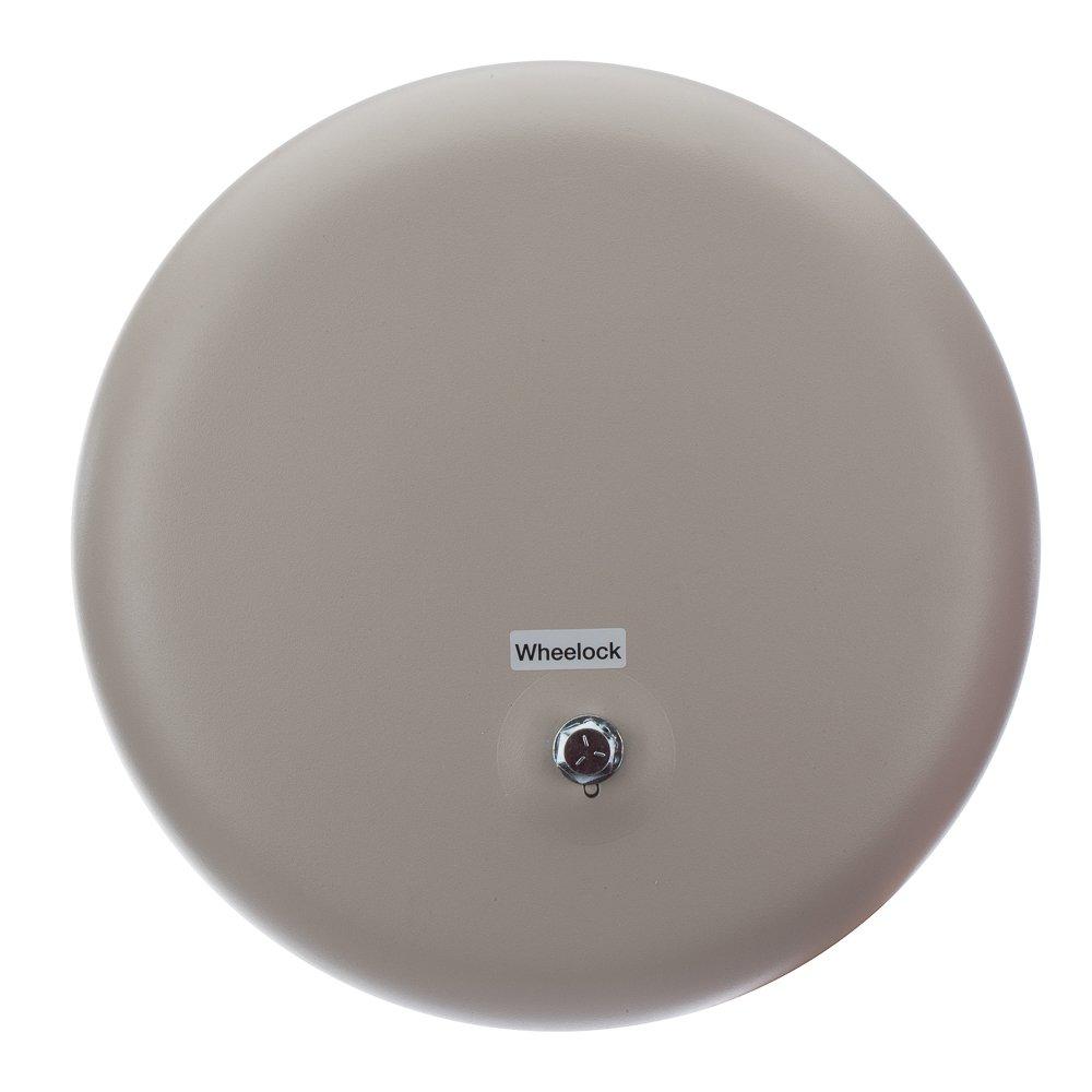 Steel/Aluminum Heavy Duty AC Vibrating Bell, 10'' Shell Size, 24 VAC, 0.32 Amp Input Current, Dawn Mist