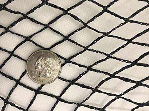 Green Vista 1/2 Inch Commercial Quality Pond & Garden Netting 20x25 Feet - Keeps Out Debris, Predators - Heavy Duty, UV Resistant, Small Holes, Steel Stakes by Green Vista Water Gardens (Image #1)