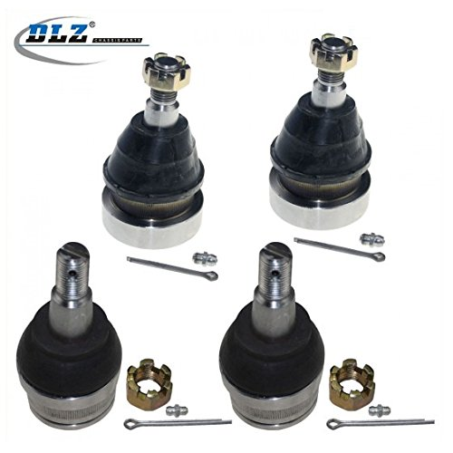 - DLZ 4 Pcs Front Suspension Kit-2 Upper 2 Lower Ball Joint Compatible with 1997 1998 1999 Dodge Ram 1500 Truck RWD K7201 K7206T