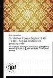 Sir Arthur Conan Doyle - Fiction, Histoire et Propagande, Kleinewefers Marc, 3841623034