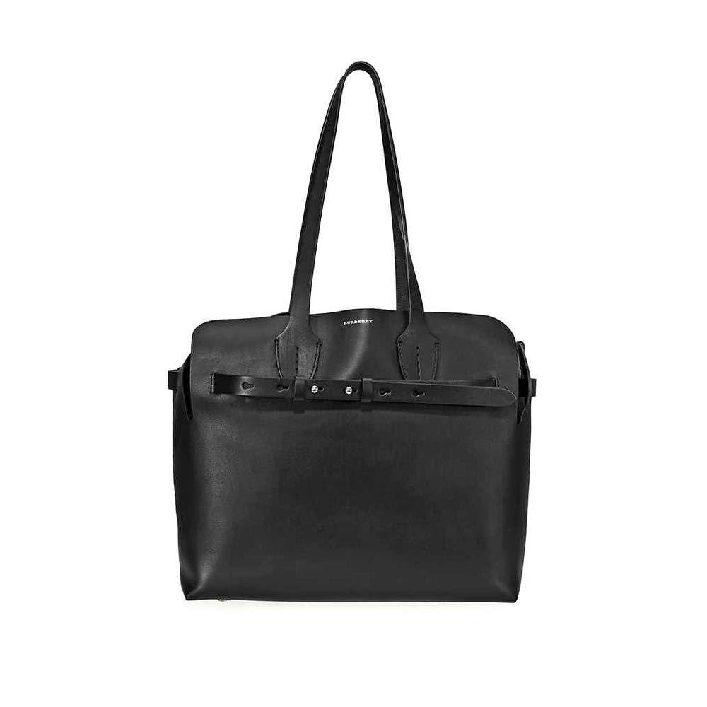 15e68d8c25be Amazon.com  Burberry Medium Soft Leather Belt Bag- Black  Shoes