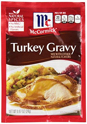 McCormick Turkey Gravy Mix 0.87 oz ( Pack of (Turkey Mix)