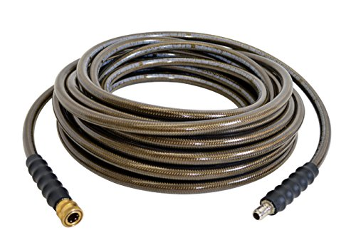 SIMPSON Cleaning 41028 3/8-Inch by 50-Foot 4500 PSI Cold Water Replacement/Extension Hose for Gas Pressure Washers