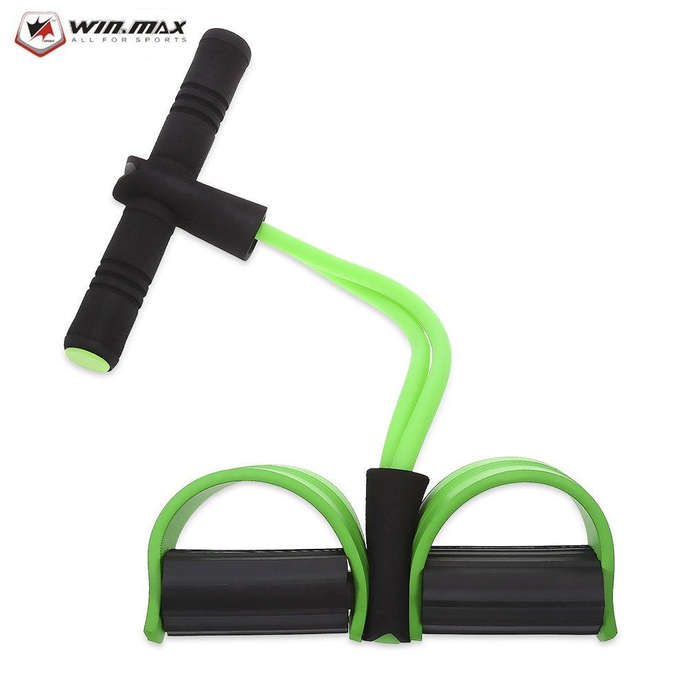 SZYT Pedal pedal pull rope sit-up abdominal abdomen multi-purpose fitness equipment green