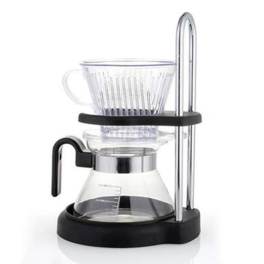 Verter sobre cafetera Set, gotero de café con el soporte de la ...