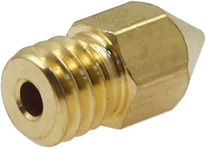 0.4mm 0.5mm 1.0mm 0.8mm 0.3mm Qjaiune 24PCS MK8 Extruder Nozzles 3D Printer Nozzles Kit 0.2mm 0.6mm
