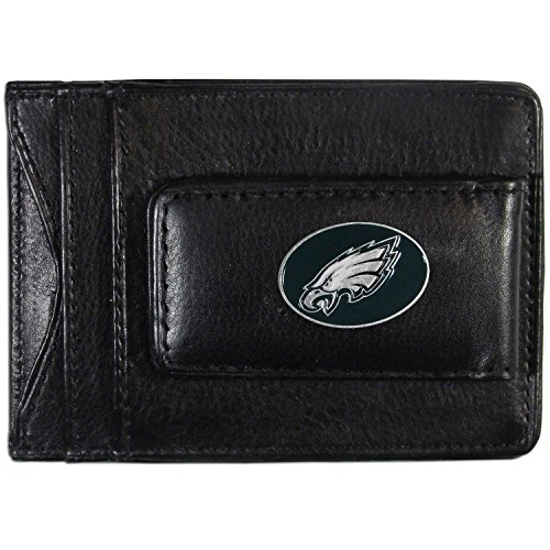 NFL Philadelphia Eagles Leather Money Clip Cardholder ()