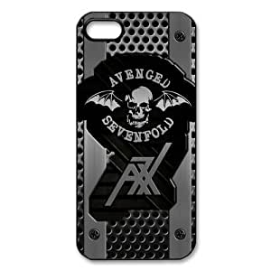 Mystic Zone Metal Band A7X Avenged Sevenfold Cover Case for iPhone 5/5S Back Cover Fits Cases WSQ1603