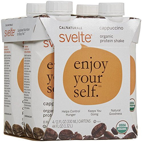 CalNaturale svelte Organic Protein Shake Drink - Cappuccino - 44 Ounces