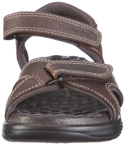 Panama Jack Panama - Zapatillas de estar por casa con talón abierto Mujer Braun