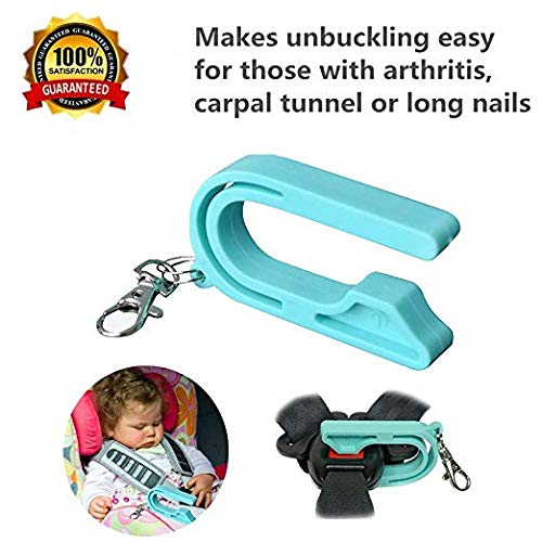 Easy Buckle Release,Car Seat Unbuckle,The Car Seat Key for for Anyone with Thumb Pain or Weakness, Including Arthritis, Carpal Tunnel, Child (1 Pack)