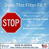 2-Pack Air Filter Factory Replacement For