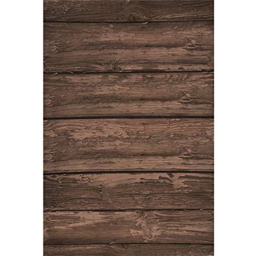 Yeele 5x7ft Vinyl Photography Background Wooden Floor Wood Plank Weathering Mottled Horizontal Stripes Photo Backdrops Pictures Studio Props