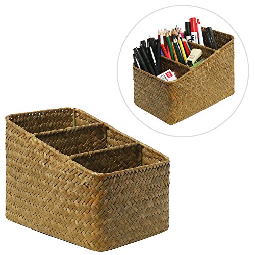 Decorative Compartment Organizer Desktop Container