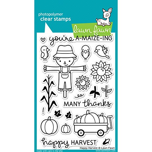 (Lawn Fawn Clear Stamps - LF971 Happy Harvest)