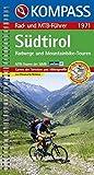 Südtirol: Radwege und Mountainbike-Touren mit Top-Routenkarten und Höhenprofilen