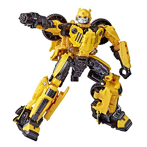 🥇 Transformers Toys Studio Series 57 Deluxe Class Bumblebee Movie Offroad Bumblebee Action Figure – Adults and Kids Ages 8 and Up