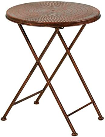 table ronde pliante vintage
