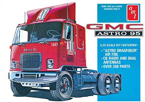 - AMT 1140 1/25 GMC Astro 95 Semi Tractor