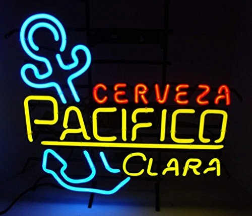 """Desung Brand New 20""""x16"""" Cerveza Pacifico Clara Neon for sale  Delivered anywhere in USA"""