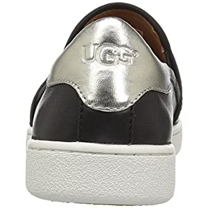 UGG Women's CAS Fashion Sneaker,Black,8 M US