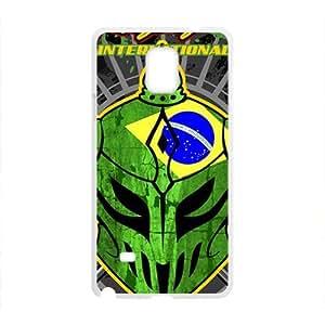 Tauren green skull robot Cell Phone Case for Samsung Galaxy Note4