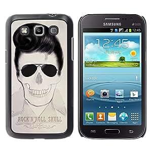 """For Samsung Galaxy Win I8550 Case , Elvis rollo de la roca estrella del cráneo Cool Music"""" - Diseño Patrón Teléfono Caso Cubierta Case Bumper Duro Protección Case Cover Funda"""