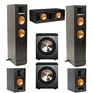 klipsch rf 82 ii rc 62 ii rb 61 ii and 2 pl. Black Bedroom Furniture Sets. Home Design Ideas