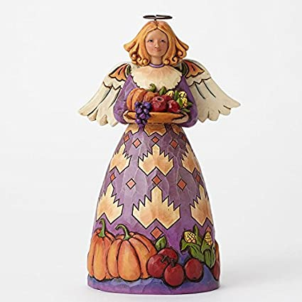 Jim Shore for Enesco Heartwood Creek Harvest Angel Figurine