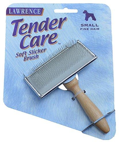 Medium Soft Slicker (Lawrence Tender Care Soft Slicker Brush - Small Dogs w/ Fine Hair)